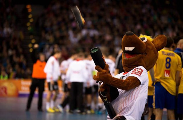 Handball mascot
