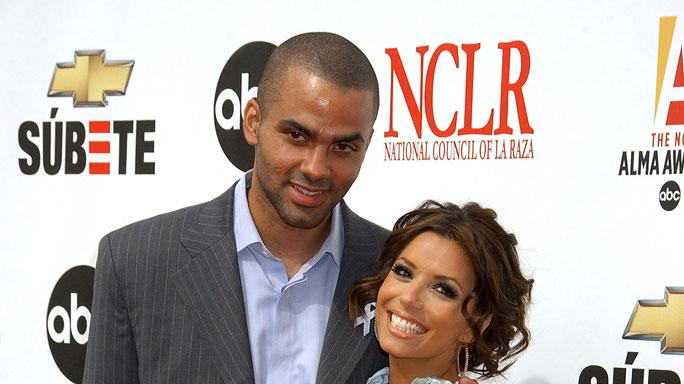 Tony Parker and Eva Longoria at the 2007 NCLR ALMA Awards.