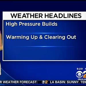 Evelyn Taft's Weather Forecast (March 5)