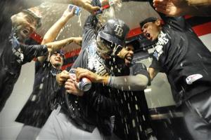 MLB: AL Wild Card-Tampa Bay Rays at Cleveland Indians