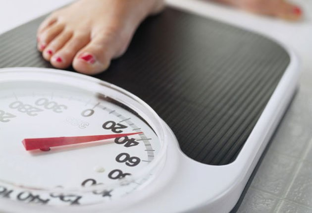 Consider how much weight you should lose. (Getty Images)
