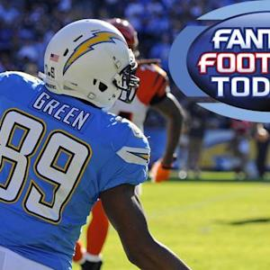 Fantasy Football Today: Waiver Wire Pickups -- TE/DST (12/4)