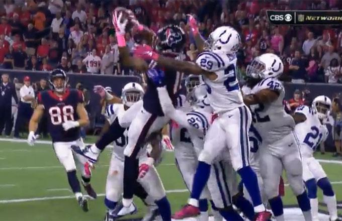 Colts Prefer Not to Strain Themselves, Allow Hail Mary TD On Final Play of First Half