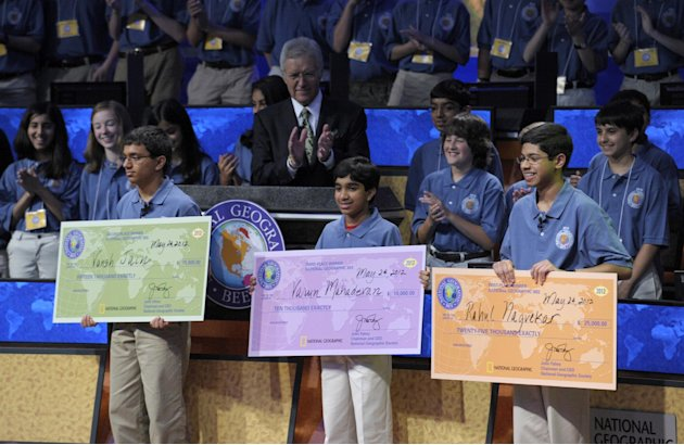 14-Year-Old Texan Wins National Geographic Bee