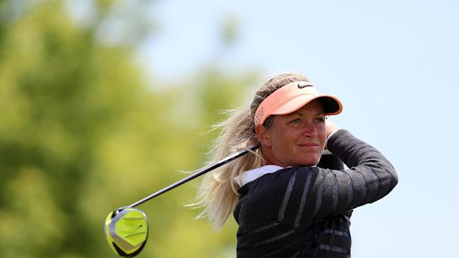 Golf - Pettersen leads stormy British Open