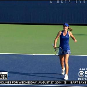 Bay Area 15-Year-Old CiCi Bellis Youngest To Win U.S. Open Match Since 1996