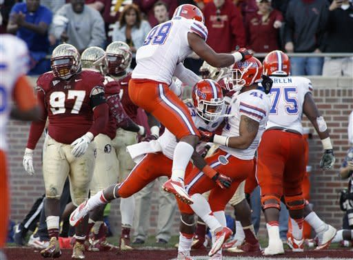 No. 6 Florida rolls to 37-26 win over No. 10 FSU