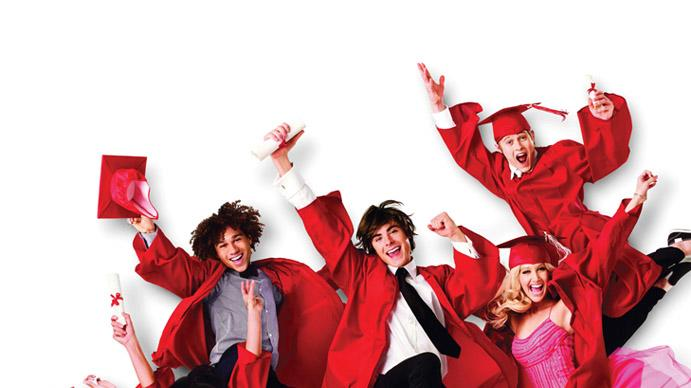 High School Musical 3: Senior Year Production Walt Disney 2008 Poster