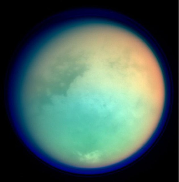 Cassini Spacecraft Reveals Titan Surface Details