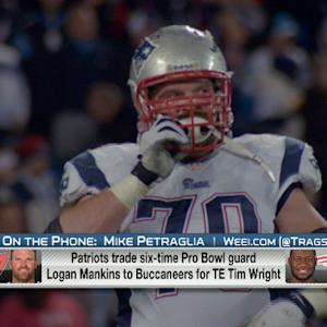 How will New England Patriots replace Logan Mankins?