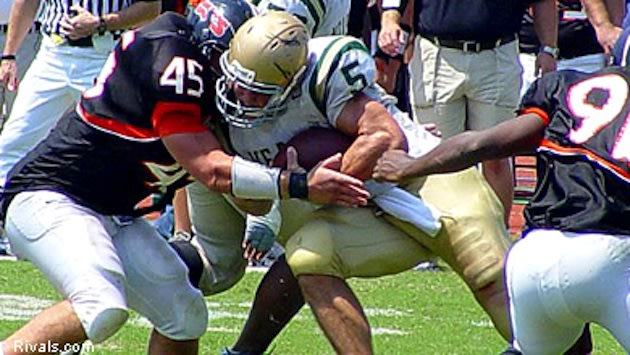 Tim Tebow first showcased his bruising running style at Nease — Rivals.com