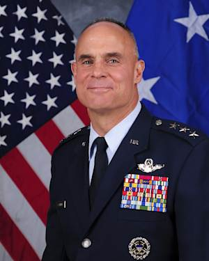 FILE - This undated file photo provided by the U.S. Air Force shows Lt. Gen. Craig Franklin. Franklin, the Air Force commander whose decision to overturn a sexual assault conviction led to major changes in military policy has decided to retire. Air Force officials said Franklin was retiring after more than 32 years. (AP Photo/U.S. Air Force, File)