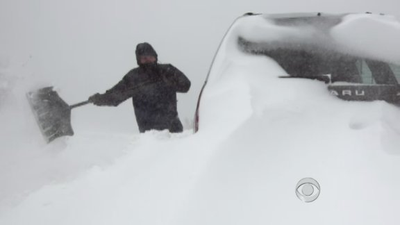 Blizzard buries Northeast