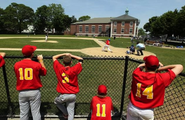 French's Common, home of Braintree High baseball � Boston Globe