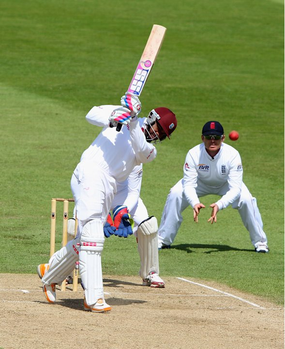 England Lions v West Indies - Day Three