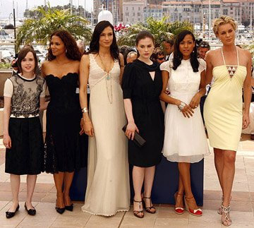 Ellen Page, Halle Berry, Famke Janssen, Anna Paquin, Dania Ramirez and Rebecca Romijn