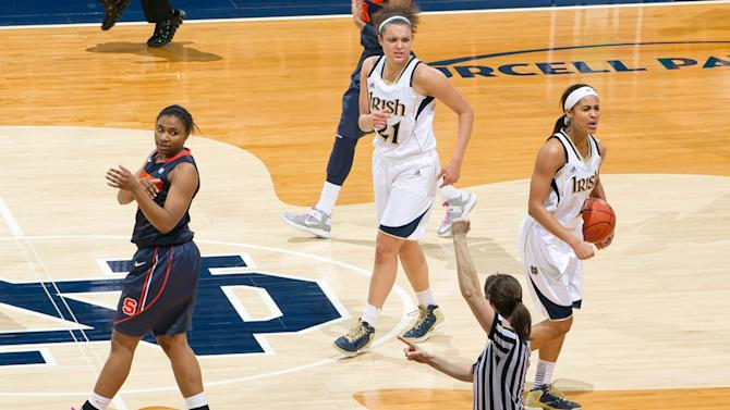NCAA Womens Basketball: Syracuse at Notre Dame