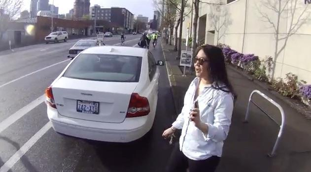 Cyclist's helmet-cam video of argument with driver shows glory of humanity