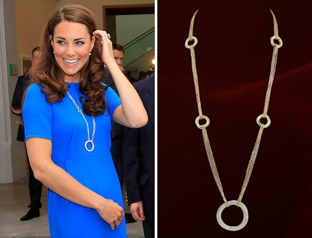 So Why Is Kate Middleton, The Prudent Princess, Wearing A Cartier Necklace Worth £49K?