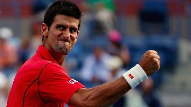 Djokovic Joie US Open 2013