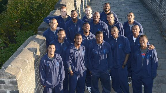 Clippers Visit Great Wall