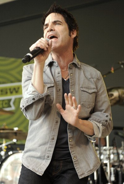 AUSTIN, TX - MARCH 17: Patrick Monahan of Train performs at Rachael Ray's Feedback Party at Stubbs Bar-B-Q in Austin as part of 2012 SXSW Music, Film   Interactive Festival Day 9 on March 17, 2012 in