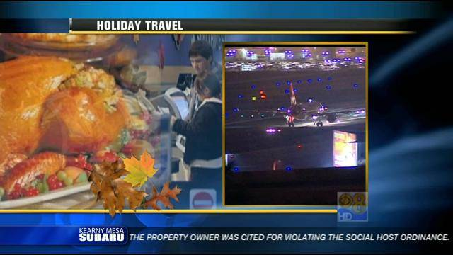 Fog could cause problems for holiday travelers