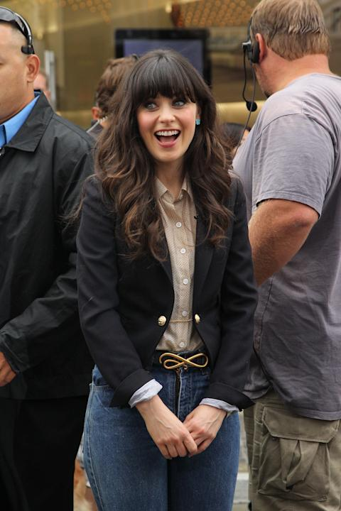 Zooey Deschanel, Footloose Stars, And Ellen Degeneres On