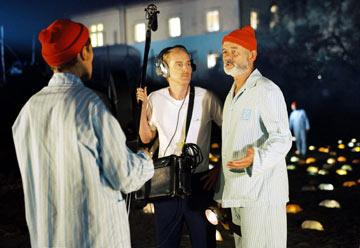 Owen Wilson and Bill Murray in Touchstone Pictures' The Life Aquatic with Steve Zissou