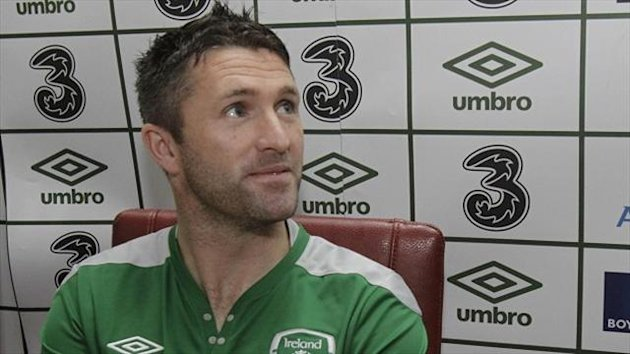 Robbie Keane missed training on Wednesday