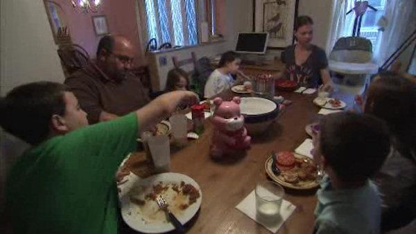 Faces of hunger: The Mitsouras family