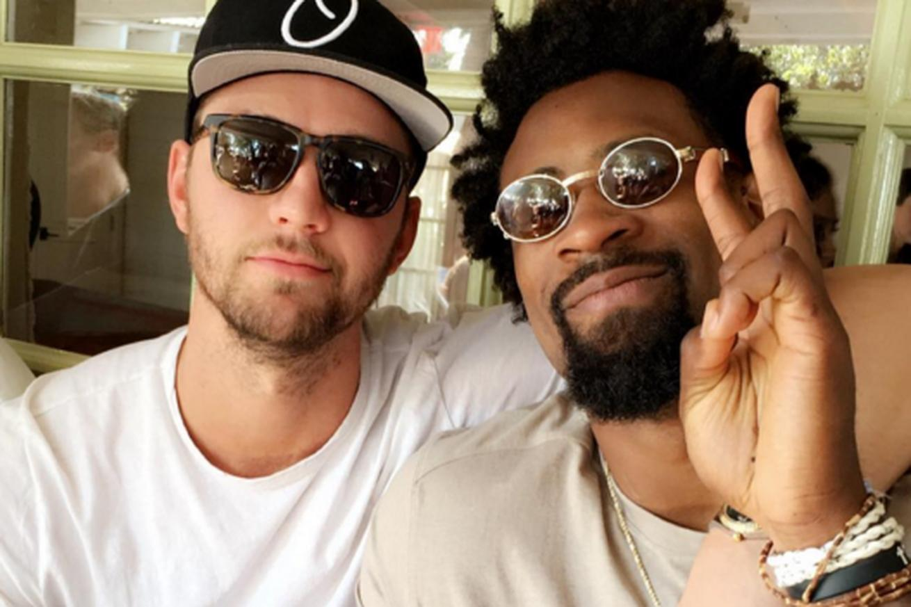 DeAndre Jordan and Chandler Parsons' emoji beef is now officially over