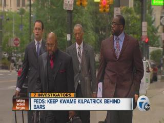 Feds want to keep Kwame Kilpatrick behind bars