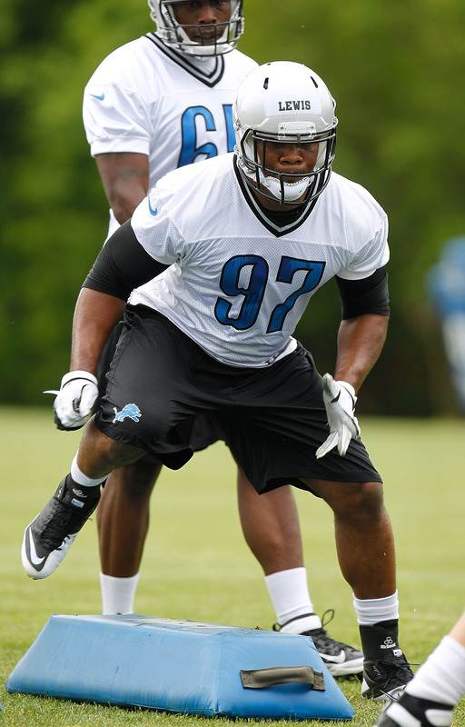 Ronnell Lewis #97 Of The Detroit Lions Does Getty Images