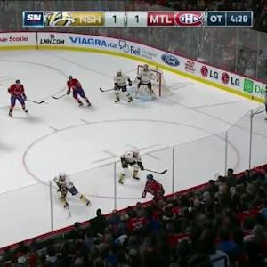 Predators at Canadiens / Game Highlights
