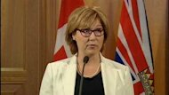 B.C. Premier Christy Clark's office is defending her $475,000 credit card bill for last year.