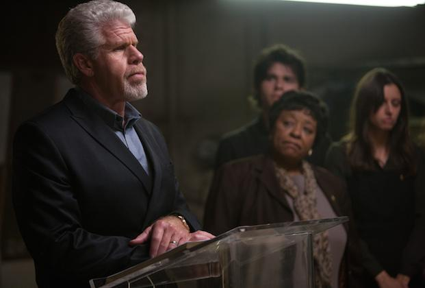 Ron Perlman Talks Hand of God's Take on Faith, Sons of Anarchy Series Finale: 'When I Was Done, I Was Done'