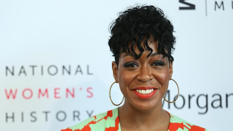 Tichina Arnold seen at the 3rd Annual Women Making History Brunch presented by the National Women's History Museum and Glamour Magazine at the Skirball Cultural Center on Saturday, August 23, 2014, in Los Angeles, Calif. (Photo by Matt Sayles/Invision for National Women's History Museum/AP Images)