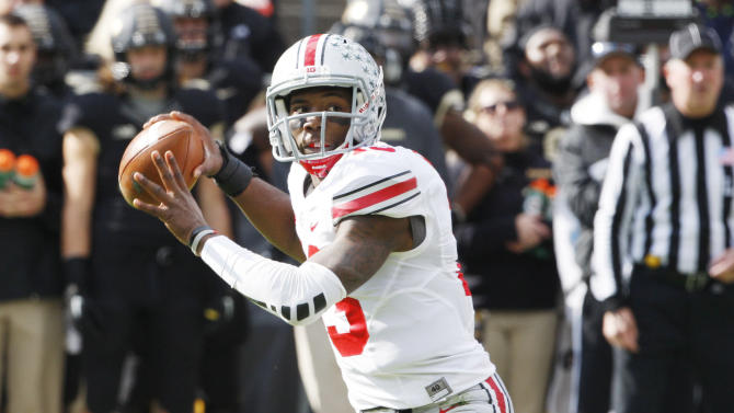NCAA Football: Ohio State at Purdue
