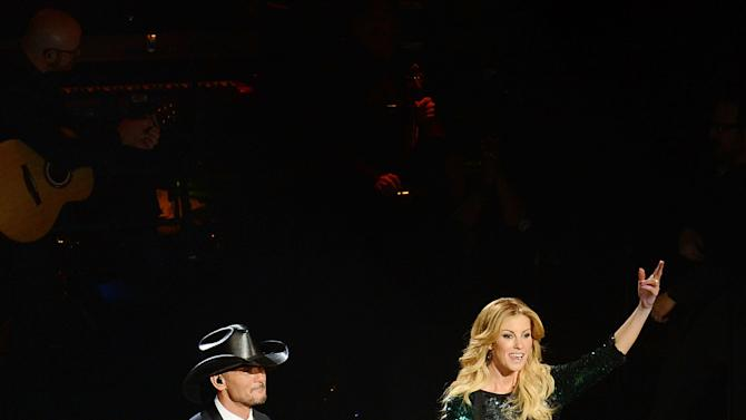 "Faith Hill and Tim McGraw Opening Weekend Of Their Limited-Engagement ""Soul2Soul"" Show at The Venetian"