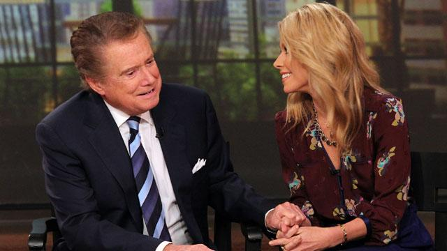 Regis Philbin: I Haven't Spoken to Kelly Ripa Since I Left the Show