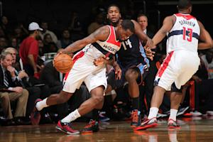 Wizards finally get win over lowly Bobcats 104-87