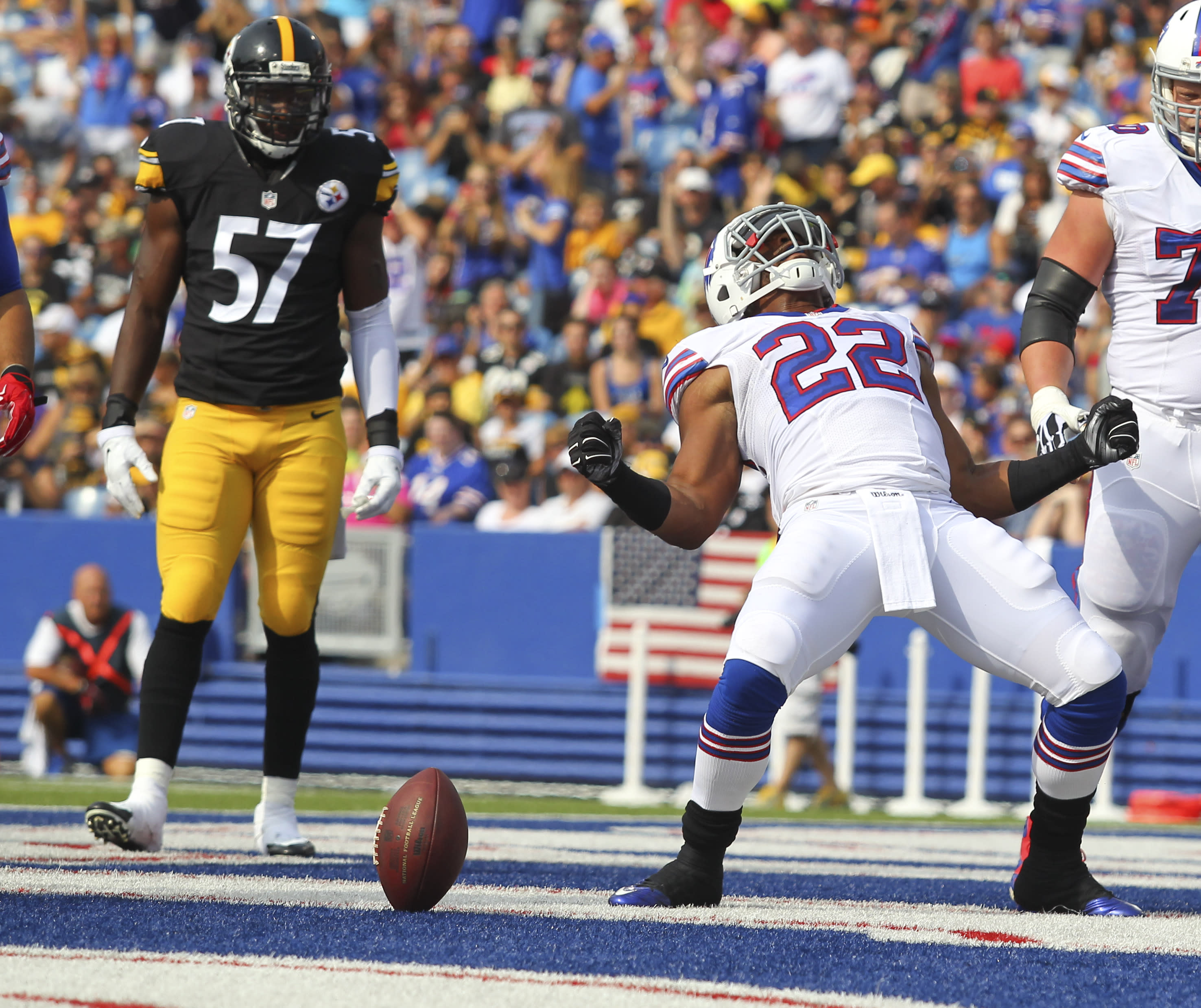 Ex-Bills RB Fred Jackson meeting with the Seahawks