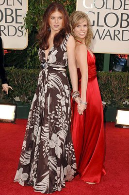 Debra Messing and Cheryl Hines