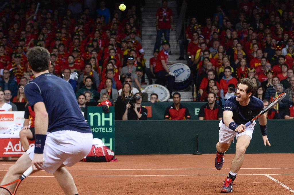 Murray one win away from ending Britain's 79-year Davis Cup wait