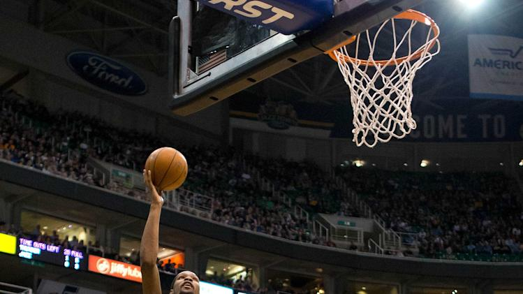 NBA: Oklahoma City Thunder at Utah Jazz