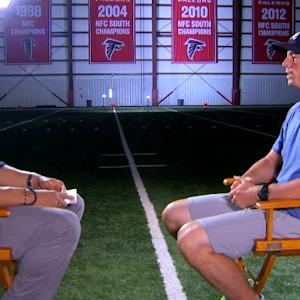 Atlanta Falcons quarterback Matt Ryan and former tight end Tony Gonzalez reunite for 1-on-1 interview