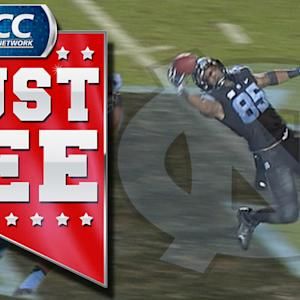 UNC's Eric Ebron Sets Record With One-Handed Catch | ACC Must See Moment of the Year Candidate
