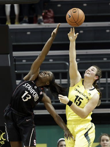No. 4 Stanford women easily down Oregon 86-62