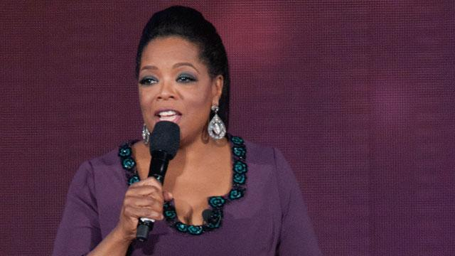 ET FIRST: Oprah on Being a Recent Victim of Racism